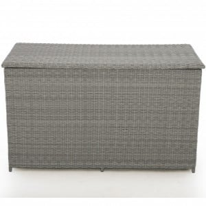 Maze Rattan Garden Furniture Ascot Grey Storage Box