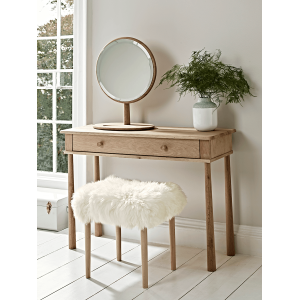 Builth Wells Furniture Nordic Dressing Table with Drawer