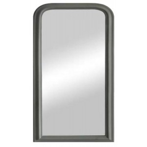 Florence Furniture Arched Mirror Grey