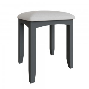 Galaxy Grey Painted Furniture Bedroom Stool