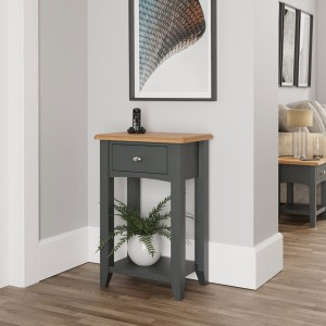Galaxy Grey Painted Furniture Telephone Table