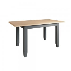 Galaxy Grey Painted Furniture 1.6m Extending Dining Table