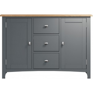 Galaxy Grey Painted Furniture Large Sideboard