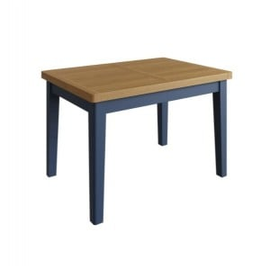 Wittenham Painted Furniture 1.6M  Blue Painted Extending Dining Table