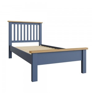 Wittenham Painted Furniture Blue Single 3ft Bed
