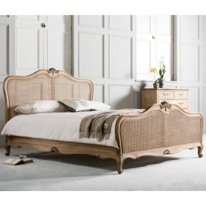 Hammersmith Furniture 5ft King Size Cane Bed Weathered