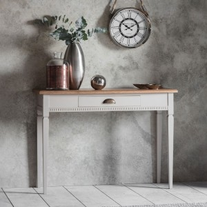 Huntingdonshire Furniture 1 Drawer Console Table Taupe