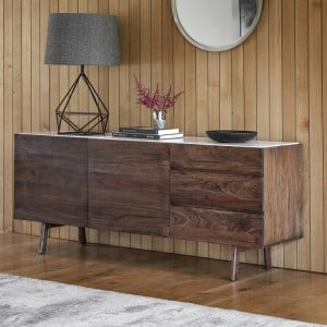 Clovelly Furniture 2 Door 3 Drawer Sideboard