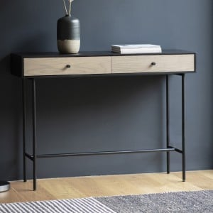 Barrow-in-Furness Industrial Furniture 2 Drawer Console Table