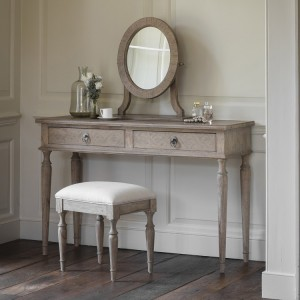 Scunthorpe Furniture French Colonial 2 Drawer Dressing Table