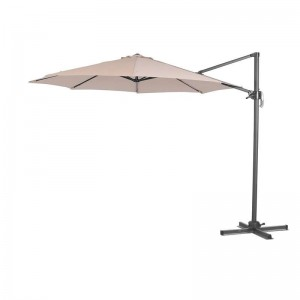 Nova Garden Furniture Apollo Beige 3m Square Cantilever Parasol
