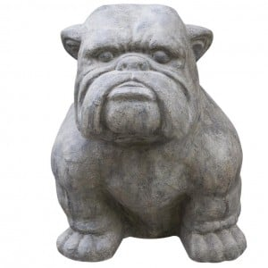BB Vintage Collection Extra Large Bulldog Old White