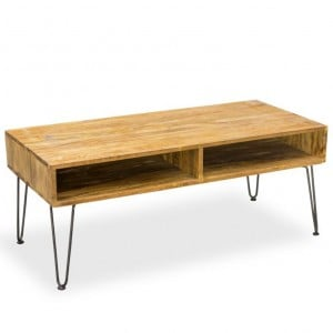 Robin Industrial Living Furniture Retro Coffee Table