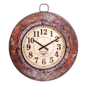 Upcycled Collection Parat Bowl Clock Large