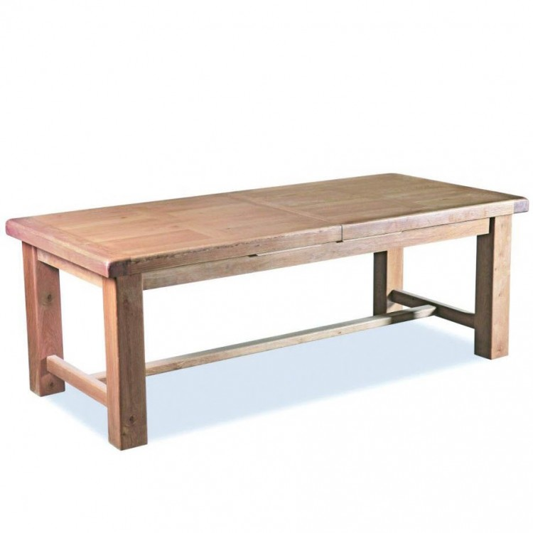 Corndell Fairford Oak Furniture Extra Large Extending Dining Table