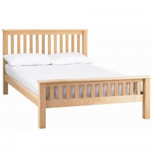 Corndell Nimbus Satin Oak Furniture Strata 3ft Single Bed