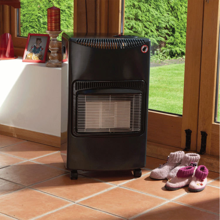 Lifestyle Outdoor Living Grey Seasons Warmth Cabinet Heater