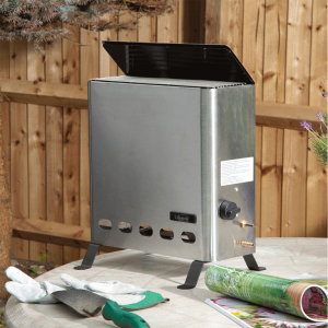 Lifestyle Outdoor Living Eden Pro Greenhouse Stainless Steel Heater