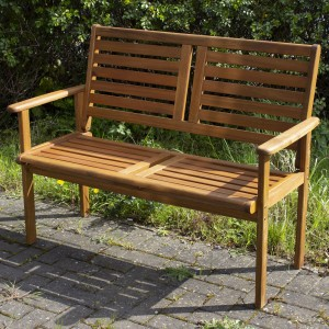Royalcraft Garden Furniture Wooden Napoli 2 Seater Bench