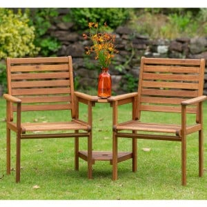 Royalcraft Garden Furniture Wooden Napoli Companion Seat