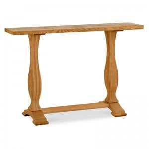 Bentley Designs Belgrave Rustic Oak Furniture Console Table