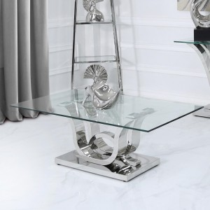 Quintrell Glass Furniture Coffee Table