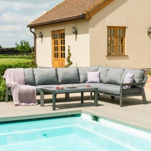 Maze Lounge Outdoor Fabric New York Corner Sofa Set