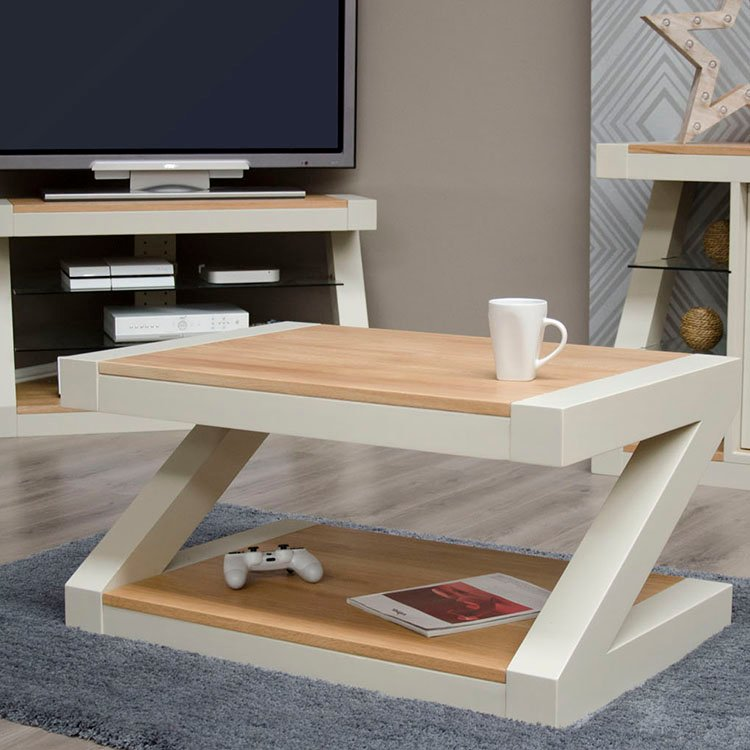 Z Painted Oak Range Coffee Table