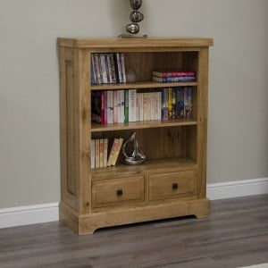 Deluxe Oak Furniture Small Bookcase