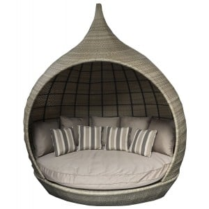 Signature Weave Garden Furniture Natural Wicker Pearl Daybed
