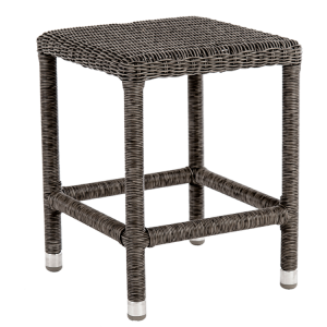 Alexander Rose Monte Carlo Rattan Sun Lounger Side Table