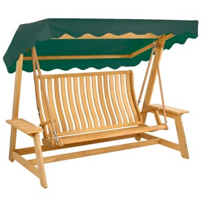 Alexander Rose Roble Garden Swing Seat Green