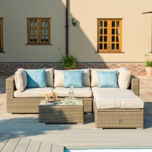Maze Rattan Garden Furniture Rio Tuscany Corner Group