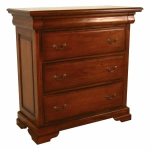 French Mahogany Furniture Sleigh 4 Chest of Drawers