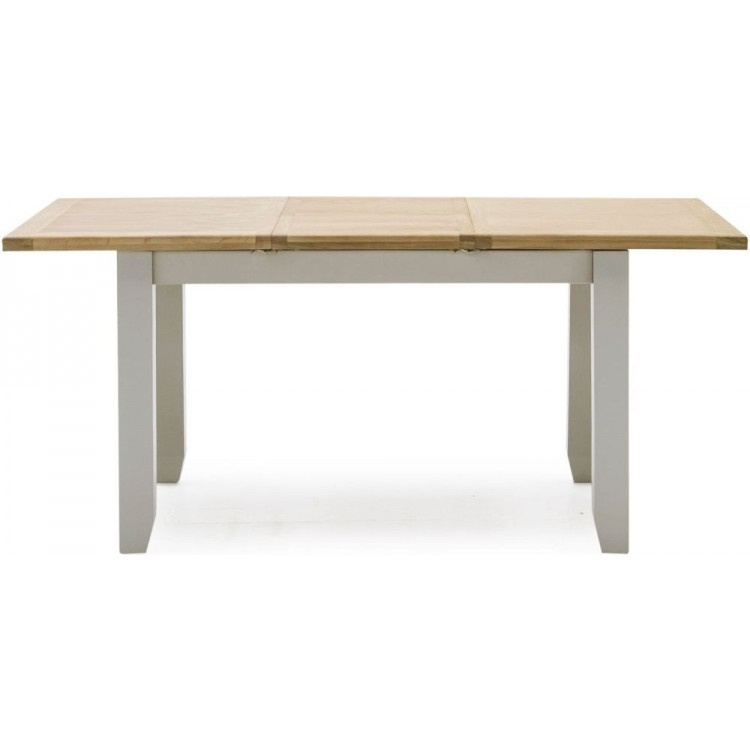 Vida Living Ferndale Grey Painted Furniture 150-195cm Extending Dining Table