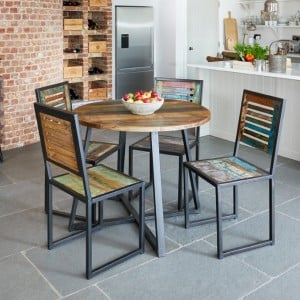 New Urban Chic Furniture Round Dining Table