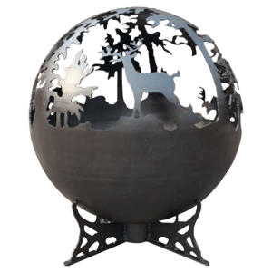 Lifestyle Garden Furniture Deer Globe Firepit