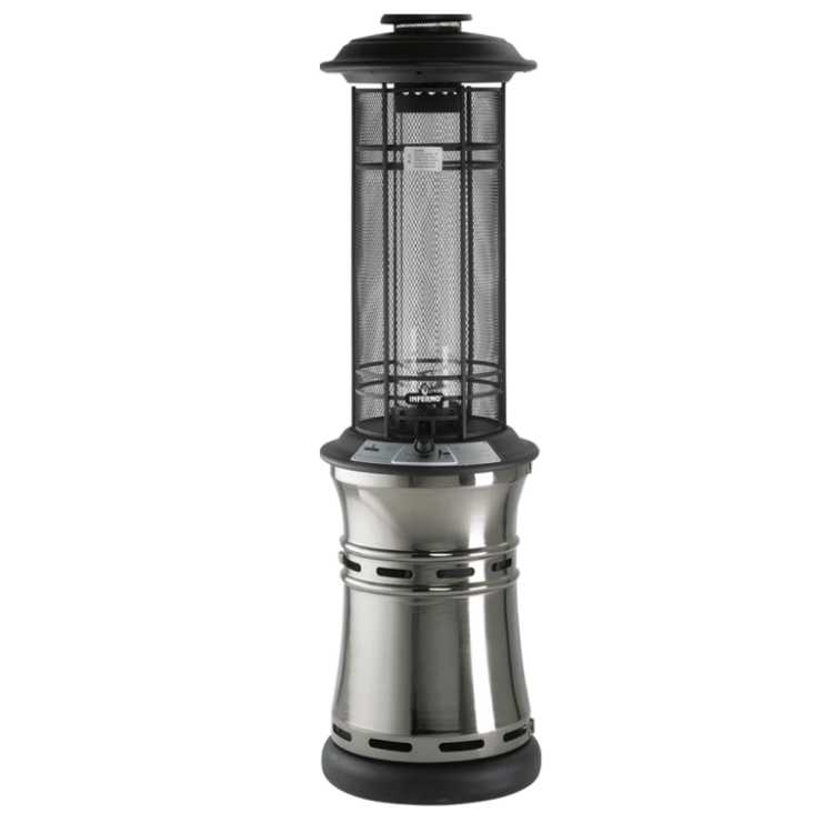 Lifestyle Appliances Santorini Flame 11kw Stainless Steel Patio Heater