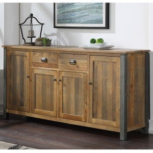 Urban Elegance Reclaimed Wood Furniture Extra Large Sideboard