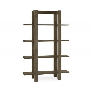 Bentley Designs Turin Dark Oak Shelf Unit