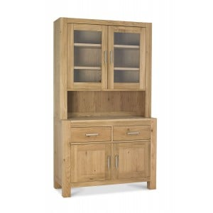 Bentley Designs Turin Light Oak Glazed Dresser
