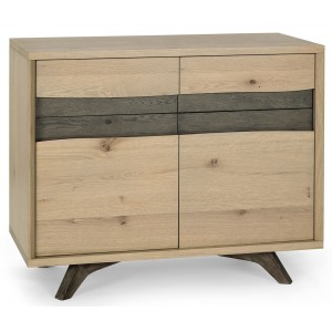 Bentley Designs Cadell Oak Furniture Narrow Sideboard