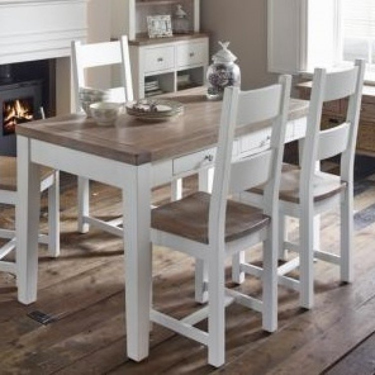 Chalked Oak and Pure White Furniture