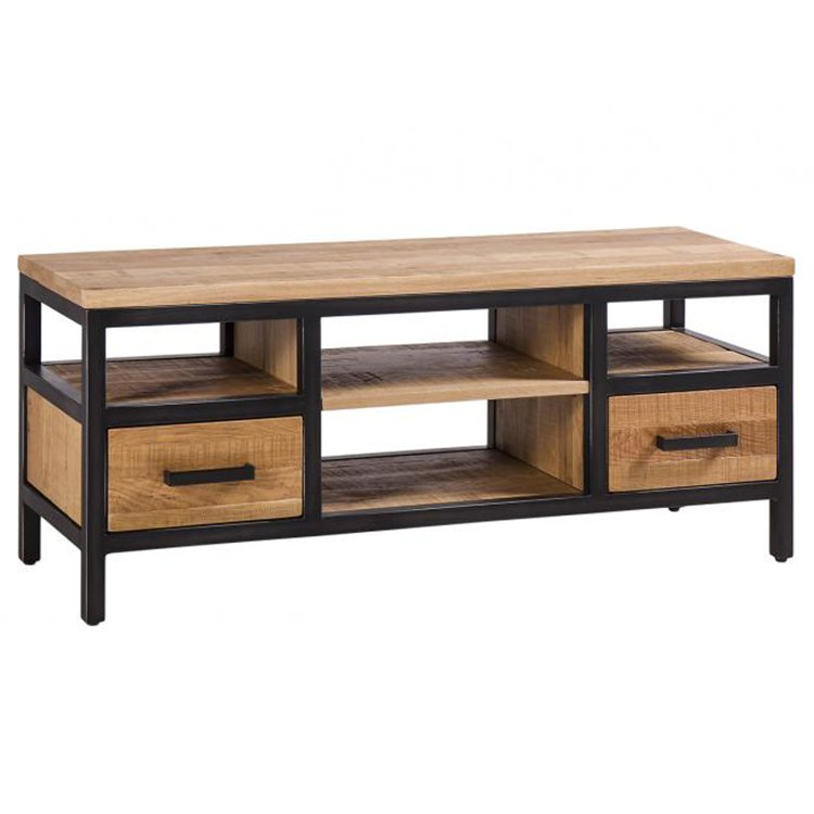 Forge Iron and Solid Oak Furniture