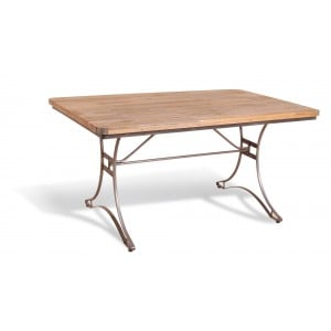 Robin Industrial Furniture Factory Chic Rectangular Dining Table