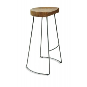 Robin Industrial Dining Room Furniture Tractor Seat Stool Pair