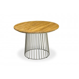 Robin Industrial Dining Room Furniture Round Dining Table