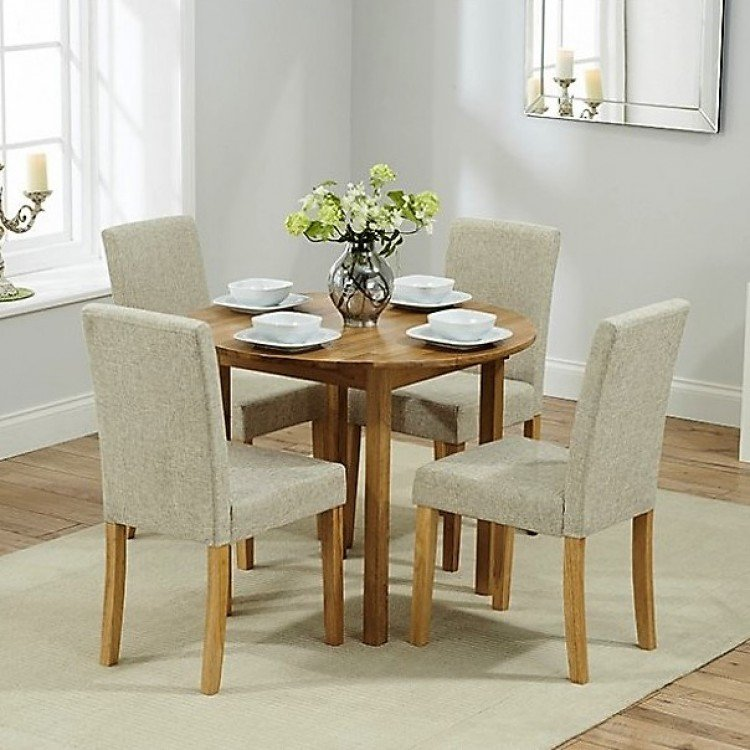 Promo Oak Furniture Dining Table and Chair Sets