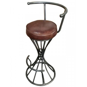 Additions Dining Room Furniture Aniline Leather Bar Stool