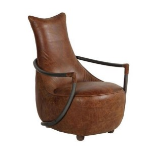 Additions Oak Furniture Maverick Aniline Leather Chair